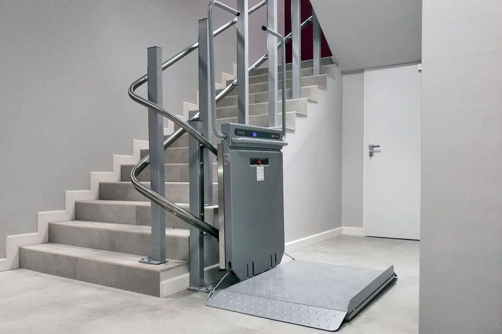 Estetyczne wykonanie wind dla niepełnosprawnych Ascendor sprawia, że platformy prezentują się doskonale w każdym wnętrzu.