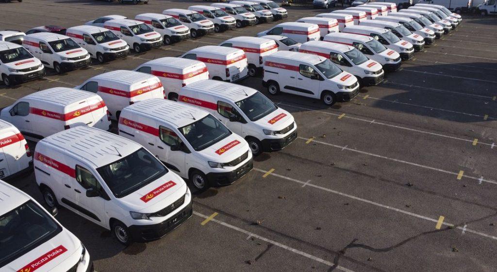 1000 pojazdów dla Poczty Polskiej- GEFCO i Peugeot Boxer